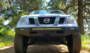 WINCH-CAPABLE STEEL PLATE BUMPER!