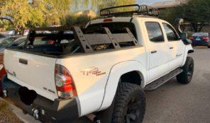 truck bed lowprofile cargo rack